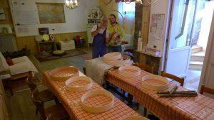 preparativi in Val di Fassa