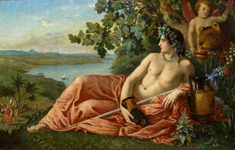 Dioniso e la corona d'edera